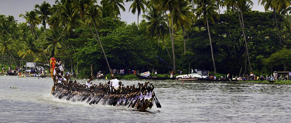 Nehru Trophy Boat Race, Punnamada Lake, Alappuzha