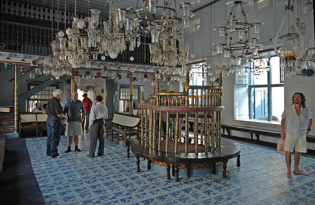 kochi Jewish synagogue