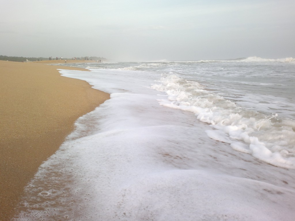 Poovar beach in kerala