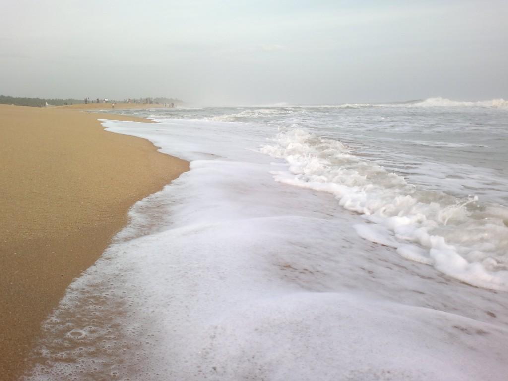 Poovar beach in kerala
