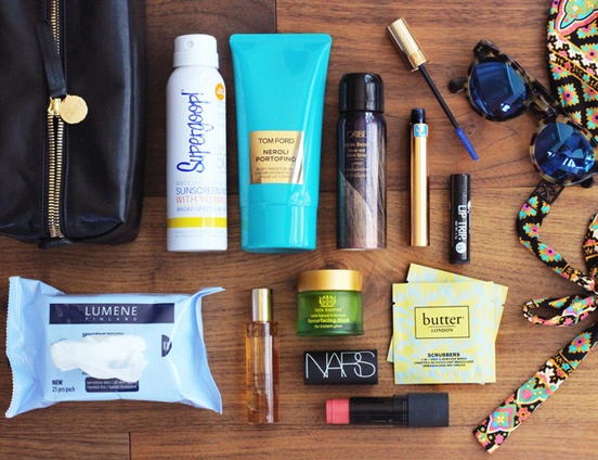 Beauty essentials list for Traveller