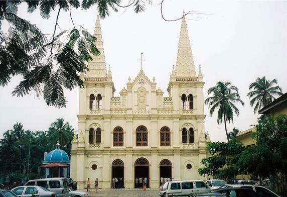 Santa Cruz Cathedral Basilica in cochin