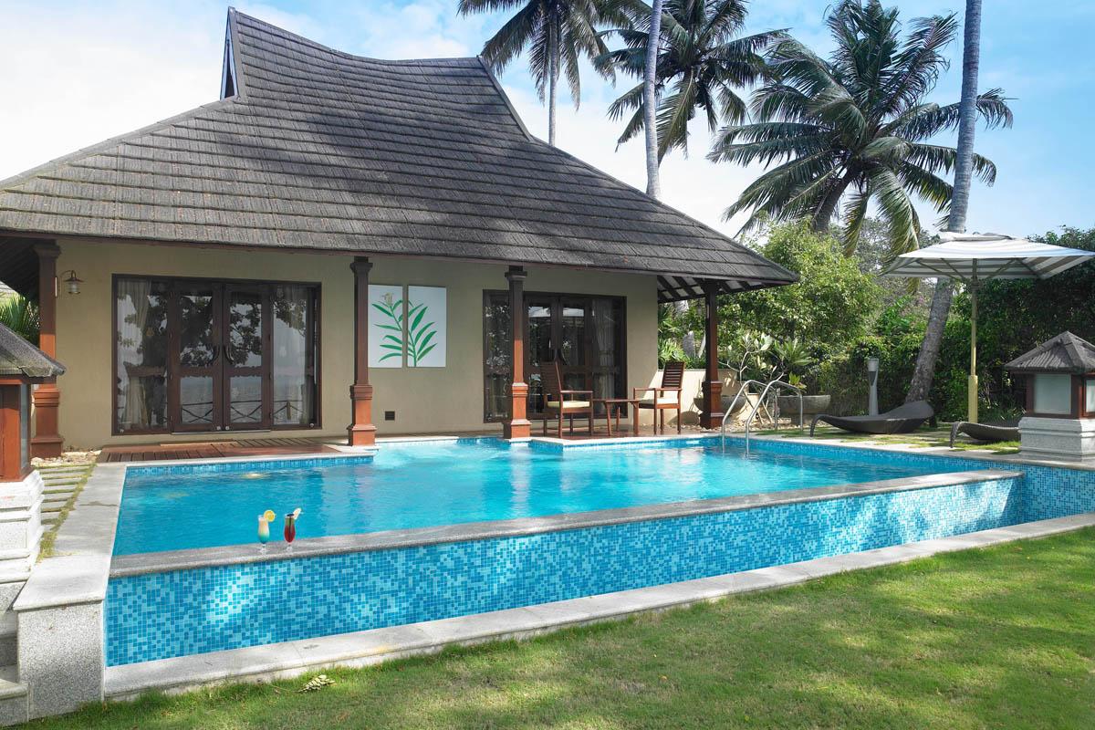 zuri presidential pool villa resort in Kumarakom