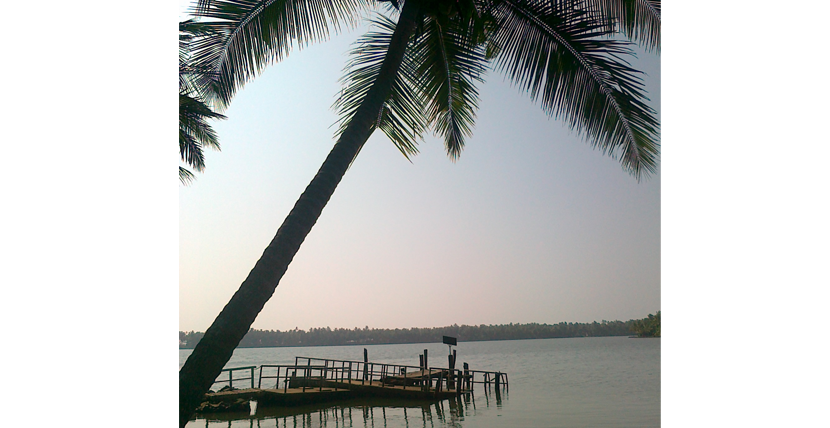 Kavvayi Backwater in Kerala