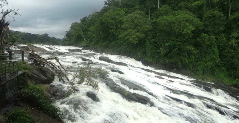 Vazhachal- Waterfalls in Kerala