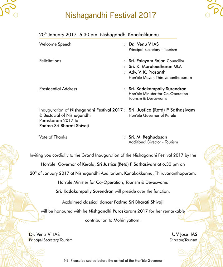 nishagandhi invitation