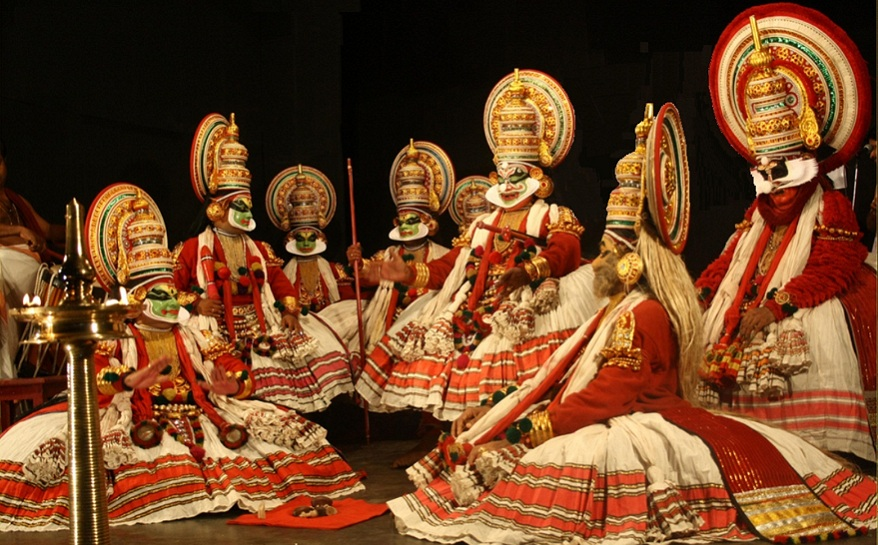 Kathakali-dance form of Kerala