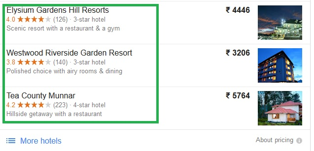 4 Star resorts in Munnar