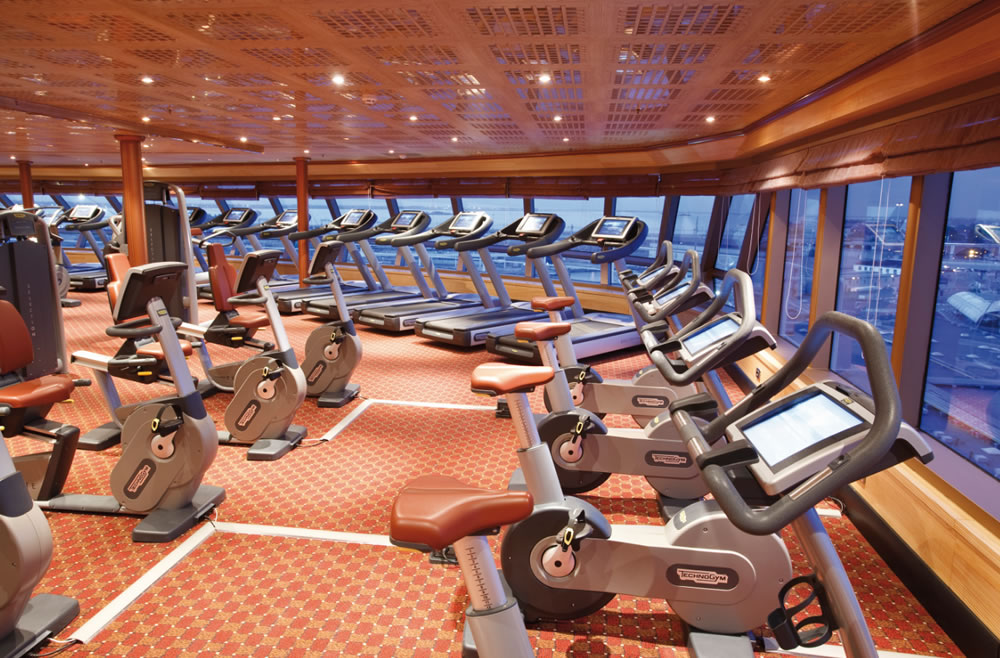 COSTA CRUISE ASIA GYM