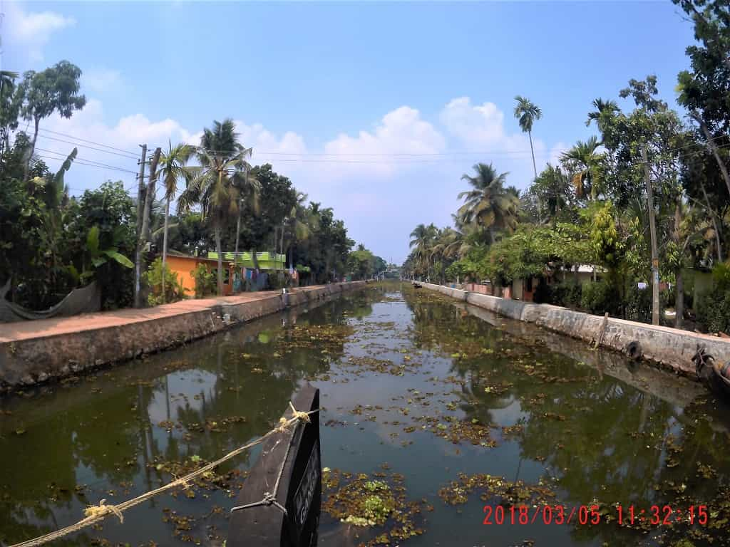 Venattukadu canal