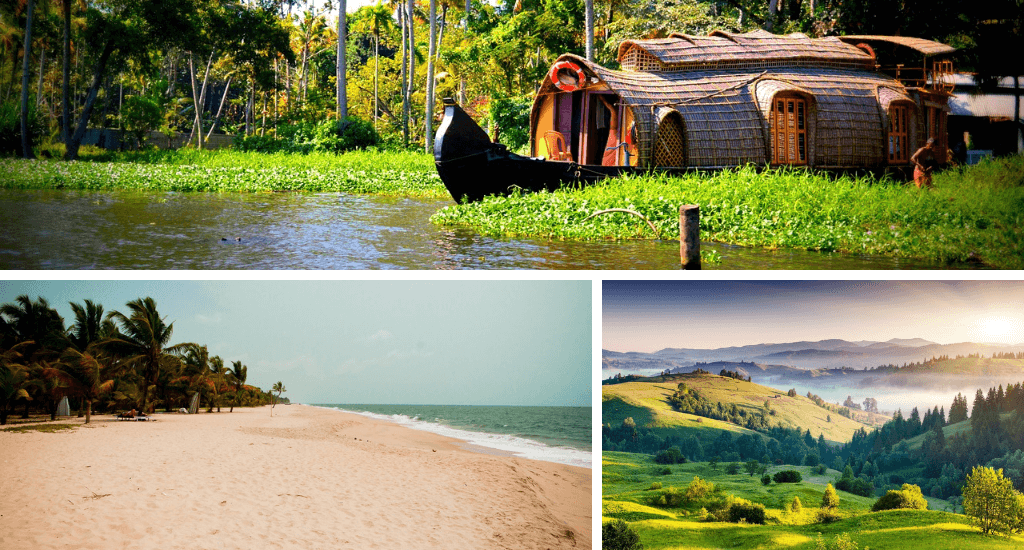 Kerala Places for Sightseeing