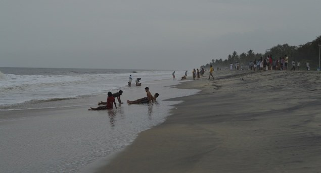 Activities on Alleppey beach
