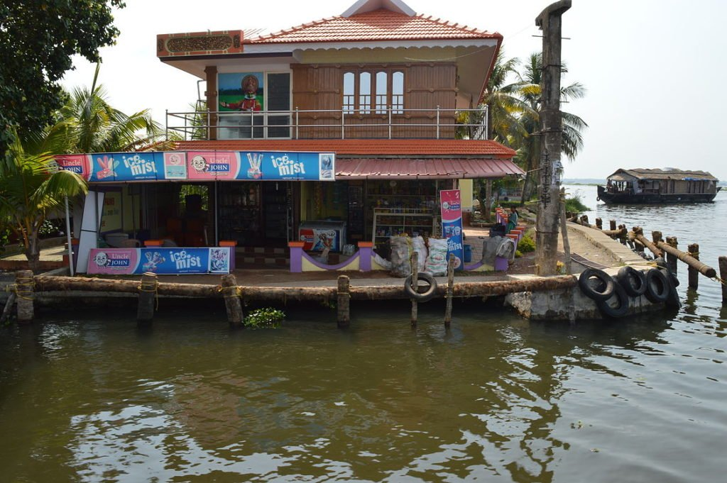 canal side shops