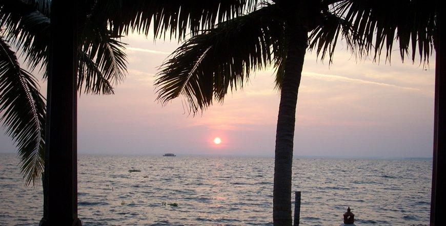 Vembanad sunset View