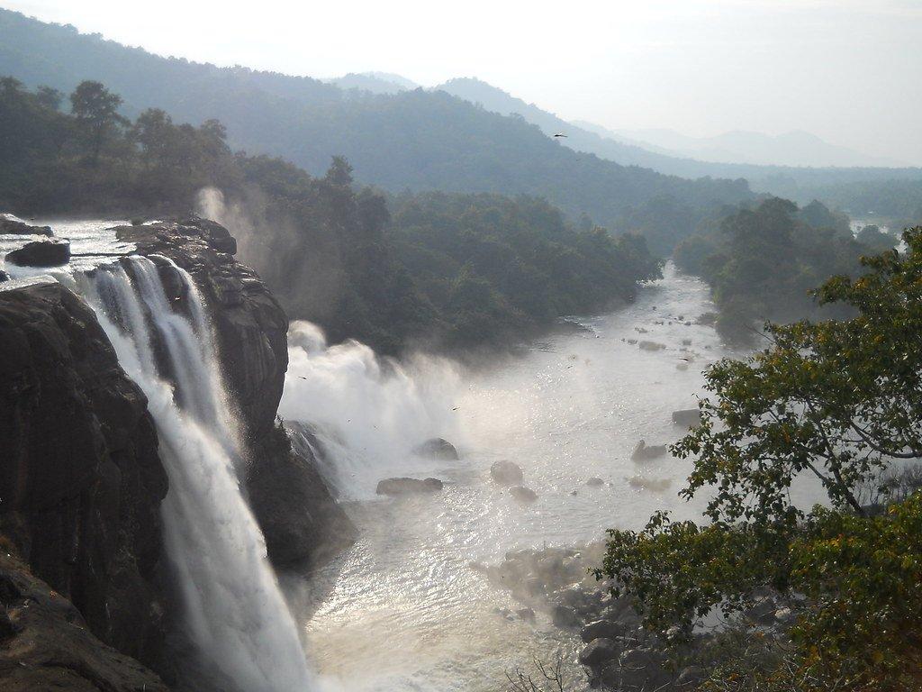 Athirpally-Waterfalls