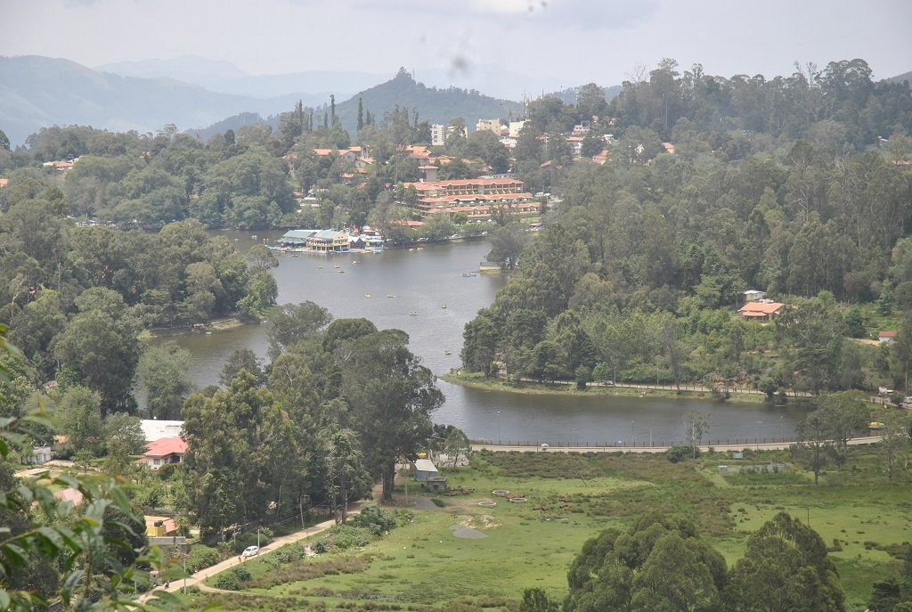 kodaikanal-lake-upper-view