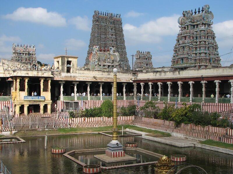 About Madurai Meenakshi Temple